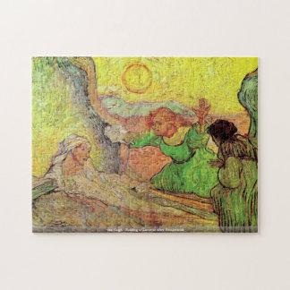 van Gogh-Aumentar de Lazarus después del Rompecabezas Con Fotos