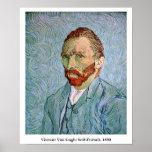 Van Gogh: Autorretrato, 1890 Impresiones