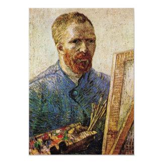 Van Gogh; Autorretrato delante del caballete