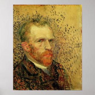 Van Gogh - autorretrato Póster