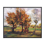 Van Gogh - Autumn Landscape With Four Trees Canvas Print