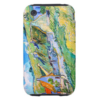 Van Gogh Auvers iPhone 3 Tough Carcasa