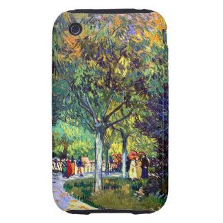 Van Gogh Avenue in Park iPhone 3 Tough Cover