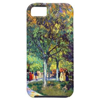 Van Gogh Avenue in Park iPhone SE/5/5s Case