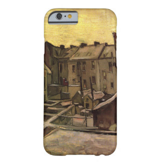 Van Gogh Backyards of Old Houses, Antwerp in Snow Barely There iPhone 6 Case