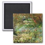 Van Gogh; Bancos del Sena Pont de Clichy en primav Iman De Frigorífico