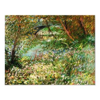 Van Gogh Banks of Seine Pont de Clichy in Spring Card
