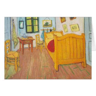 van Gogh - Bedroom in Arles (1889) Card