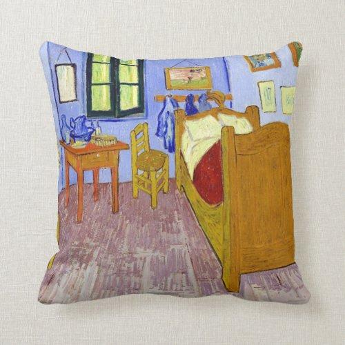 Van Gogh Bedroom In Arles Pillow