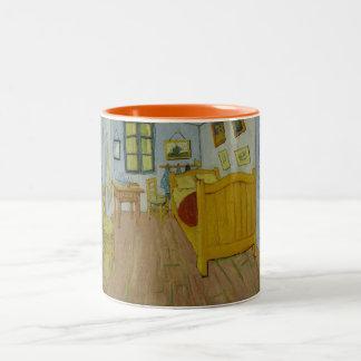 Van Gogh Bedroom in Arles Two-Tone Coffee Mug