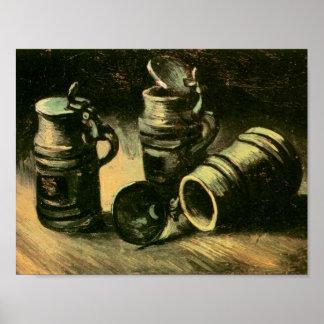 Van Gogh Beer Tankards Print