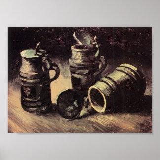 Van Gogh - Beer Tankards Print