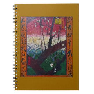 Van Gogh Blooming Plum Tree Journals