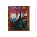 Van Gogh Blooming Plum Tree Post Cards