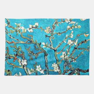 Van Gogh - Blossoming Almond Branches Towels