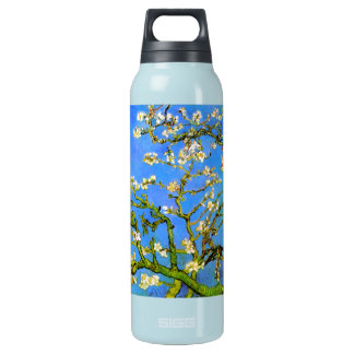 Van Gogh: Blossoming Almond Tree Branches Insulated Water Bottle