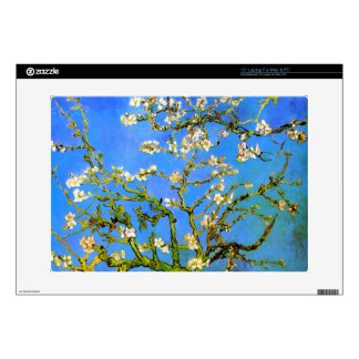 Van Gogh: Blossoming Almond Tree Branches Laptop Skin