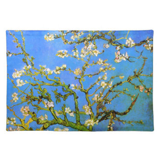 Van Gogh: Blossoming Almond Tree Branches Placemat