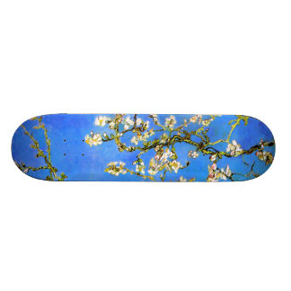 Van Gogh Blossoming Almond Tree Branches Skateboards