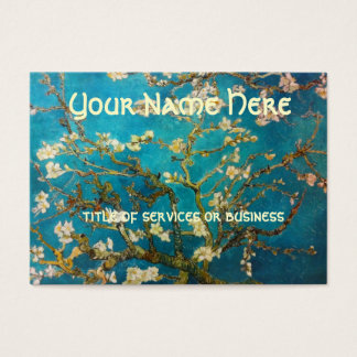 Van Gogh Blossoming Almond Tree Business Card