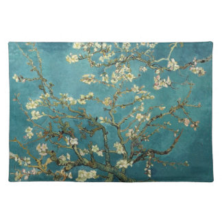 Van Gogh - Blossoming Almond Tree Cloth Placemat