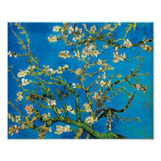 Van Gogh - Blossoming Almond Tree Extra Large Poster