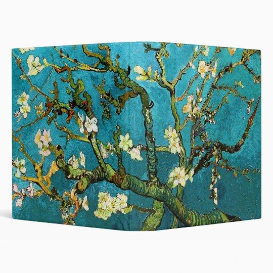 Van Gogh Blossoming Almond Tree (F671) Fine Art 3 Ring Binder