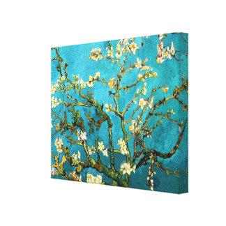Van Gogh Blossoming Almond Tree (F671) Fine Art Stretched Canvas Print