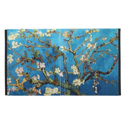Van Gogh Blossoming Almond Tree (F671) Fine Art iPad Folio Cover