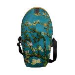 Van Gogh Blossoming Almond Tree (F671) Fine Art Messenger Bag