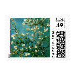 Van Gogh Blossoming Almond Tree (F671) Fine Art Postage Stamps