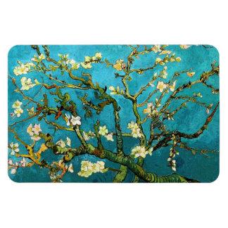 Van Gogh Blossoming Almond Tree (F671) Fine Art Rectangle Magnet