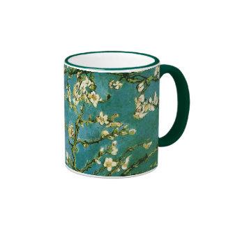 Van Gogh Blossoming Almond Tree (F671) Fine Art Ringer Coffee Mug