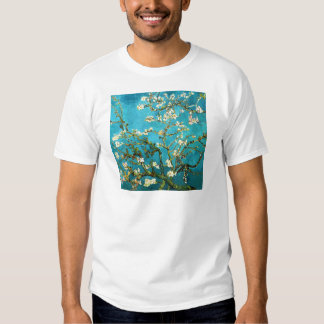 Van Gogh Blossoming Almond Tree (F671) Fine Art T Shirt