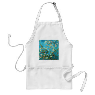 Van Gogh Blossoming Almond Tree Fine Art Adult Apron
