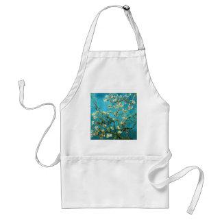 Van Gogh Blossoming Almond Tree Fine Art Adult Apron