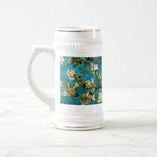 Van Gogh Blossoming Almond Tree Fine Art Beer Stein