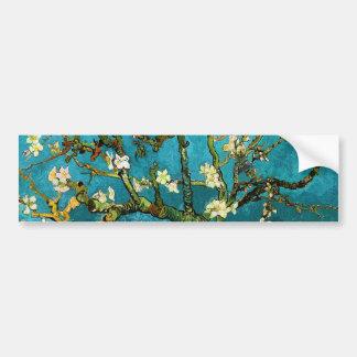 Van Gogh Blossoming Almond Tree Fine Art Bumper Sticker