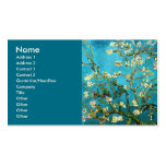 Van Gogh Blossoming Almond Tree Fine Art Double-Sided Standard Business Cards (Pack Of 100)