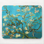 Van Gogh Blossoming Almond Tree Fine Vintage Mouse Pad