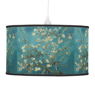Van Gogh - Blossoming Almond Tree Hanging Lamp
