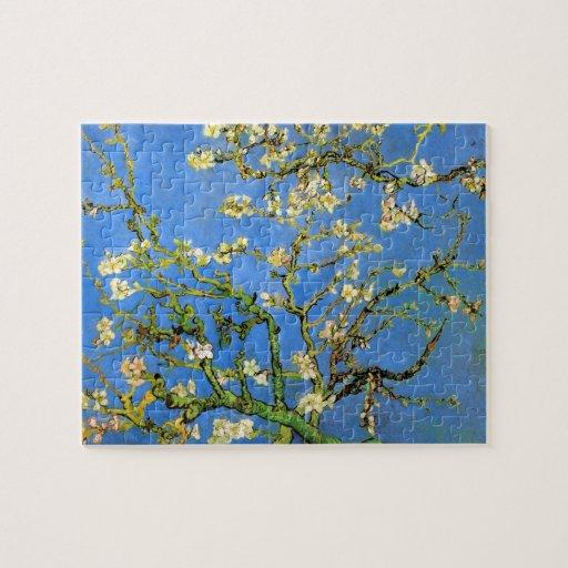 Van Gogh - Blossoming Almond Tree Jigsaw Puzzle