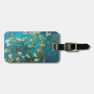 Van Gogh Blossoming Almond Tree Luggage Tag