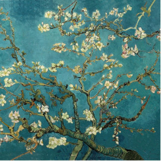 Van Gogh - Blossoming Almond Tree Cut Out