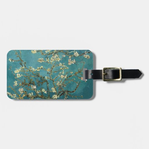 Van Gogh - Blossoming Almond Tree Tag For Bags
