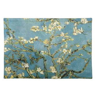 Van Gogh Blossoming Almond Tree Vintage Art Placemat