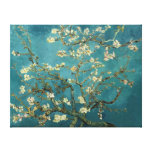 Van Gogh Blossoming Almond Tree Vintage Fine Art Stretched Canvas Print