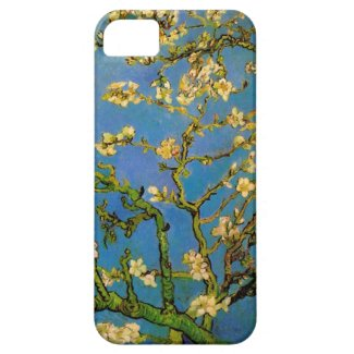 Van Gogh; Blossoming Almond Tree, Vintage Fine Art Iphone 5 Cases