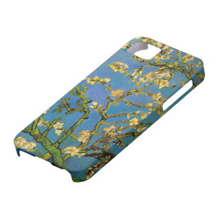 Van Gogh Blossoming Almond Tree, Vintage Flowers iPhone 5 Cases