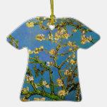 Van Gogh; Blossoming Almond Tree, Vintage Flowers Christmas Ornaments